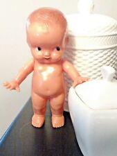 "Vintage Irwin Kewpie Doll Made In Usa Hard Plastic Figurine 6.25"""