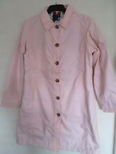 Lands' end Pearl pink rain coat / jacket. Medium. Size 10-12 New.
