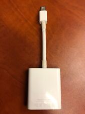 GENUINE Apple Mini Display Port to VGA Adapter Model A1307