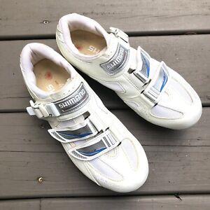 Shimano SH-WR41 Womens SPD Cycling Shoe Sz EU 41/US 8.5 with Cleats