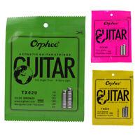 Orphee 6 pz / set Corda per chitarra acustica Nucleo esagonale + 8% di nich Z9H5