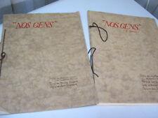 LORRAINE / Fernand ROUSSELOT : NOS GENS avec dessins de Jean Scherbeck