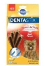 Pedigree DentaStix Beef Flavor Triple Action Small Dogs Puppy Treat Teeth Chew