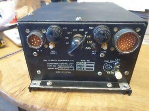 BAE 146 plessey generator control unit retro simulator upcycle Aircraft ManCave