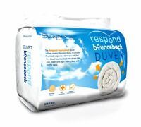 All Seasons Duo 15 Tog Respond Bounce Back Single Bed Microfibre Duvet Quilt