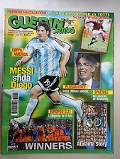 GUERIN SPORTIVO 2007 N° 26 - OTTIMO CON SUPERPOSTER DI TOTTI SCARPA D'ORO 2007