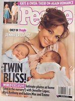 People Magazine Jennifer Lopez Twin Bliss March 31, 2008 NO ML 081017nonrh3
