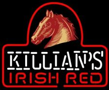 """Killians Irish Red Horse 20""""x16"""" Neon Sign Light Lamp Beer Bar With Dimmer"""