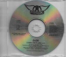 Aerosmith Dude Looks Like A Lady Promo CD Single DUDE1