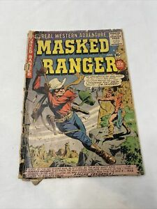 Masked Ranger #8 Real Western Adventure - A Premier Comic