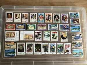 St Lucia Stamps-unchecked collection