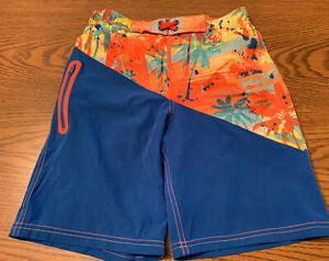 Boys Size 10/12 Wonder Nation Netted Pocketed Swim Board Shorts