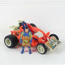 FIREFLY & JULIO LOPEZ - M.A.S.K. - VINTAGE 1986 KENNER VEHICLE & FIGURE - EX-NM