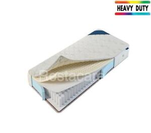 Heavy Duty Foam Encapsulated Latex + Pocket  Adjustable Electric Bed Mattress