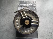 Greys X-Flite Xi 7/8 Salmon/Trout fly reel and 3 spare spools with 3 Greys line