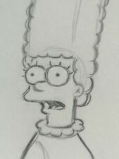 More details for marge drawing the simpsons original studio artists sketch animation collectable