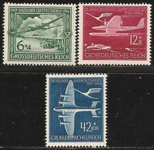 Germany (Third Reich) 1944 MNH - 25 Years Airmail - Focke Wulf, Dornier, Junkers