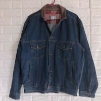 Vtg 90s Marlboro Country Store Denim Jean Trucker