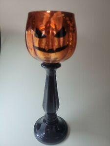 Yankee Candle   STEM JACK O LANTERN   Pumpkin   Halloween  RARE #1566754