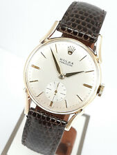 Stunning Rolex 12857 ultra rare with seconds at 6,with authenticity certificate