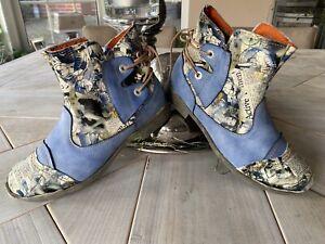 TMA EYES tolle Stiefeletten Boots