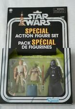 STAR WARS VC TARGET EXCLUSIVE - CAVE OF EVIL 3 FIGURE SET-LUKE-YODA-VADER New