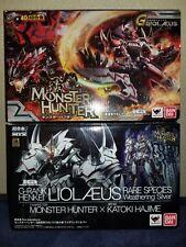 Bandai Chogokin Monster Hunter G-rank Henkei Liolaeus Weathering Silver & RED!