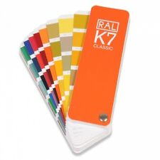 RAL K7 Classic colour guide Brand New - Shows all the Classic colours. Pack of 2