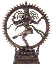 NEW! Nataraja Shiva Statue Figurine Bronze Resin Buddha Tibetan Gift Home Accent