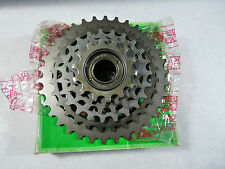 Regina BX Freewheel 6 speed 14-34 ISO Vintage Bicycle Vintage Road Bike mtb NOS