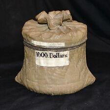 Wilhelm Schiller & Sons - 1000 Dollars - Tobacco Jar Humidor - Red Ware
