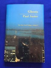 GHOSTS. THE NEW YORK TRILOGY, VOLUME 2 - FIRST EDITION BY PAUL AUSTER