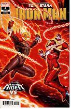 Tony Stark Iron Man #4 Nakayama Cosmic Ghost Rider Variant Marvel Comics