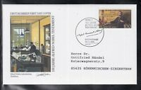 LA 006 ) Germany 1995 beautiful FDC - 100 years Alfred Nobel testament