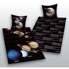 Bettwäsche Herding Sonnensystem Sonne Mond Geschenk COOL 135 x 200 cm NEU WOW