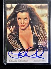 Claudia Christian Babylon 5 Signed Trading Card Autographed Susan Ivanova Photo
