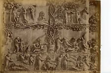 Italy Orvieto Armoni Raffaelli Albumen Cathedral sculptures facade frescoe