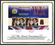 Gambia 2011 Large FDC Engagement of William & Catherine Ltd Ed 73/250