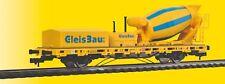 Viessmann 2625 Escala H0 Vagón Con Cuba Hormigón Construcción Vía AC 3-Leiter #