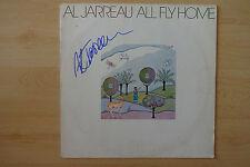 "Al Jarreau AUTOGRAFO SIGNED LP-COVER VINILE ""all fly home"""