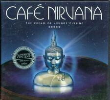 Cafe' Nirvana - Bent/Ultra Nate/Fila Brazillia/Badmarsh 2X Cd