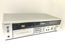 TECHNICS RS-M 216 Stereo Cassette Deck 2 Head Vintage 1982 Refurbished Like NEW