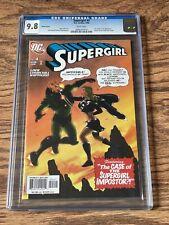 Supergirl #4 CGC 9.8 Wht Lex Luthor & JLA App. Action Comics #346 Swipe Variant