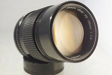 CANON FD 135mm f 2.8 LENS. EXCELLENT CONDITION, MINT, FREE SONY E MOUNT ADAPTER