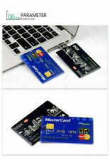 Credit Card Flash Memory Stick Pen Drive Storage Thumb Pen 32GB USB 2.0 lot