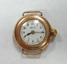 Tiffany & Co Gold Ladies Vintage Watch Rare 26mm 18k Solid Yellow Gold 76838