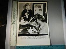 Rare Hist Orig VTG Doris Duke Cromwell United Seamen's Service Canteen NYC Photo