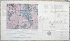 USGS APOLLO RIPHAEUS MOUNTAINS LUNAR GEOLOGIC MAP, Apollo 12 & Surveyor 3, 1965