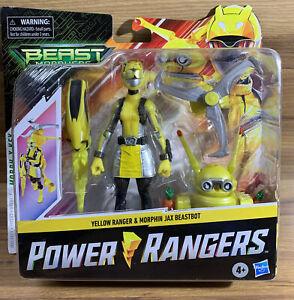 NEW Power Rangers Beast Morphers Yellow Ranger + Morphin Jax BeastBot