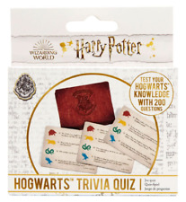 HARRY POTTER HOGWARTS TRIVIA QUIZ - BRAND NEW